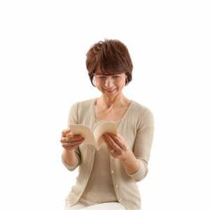プリヴェAG Hazuki ハズキルーペ ラージ (柔らかフレーム)クリアレンズ 1.6倍 (赤)