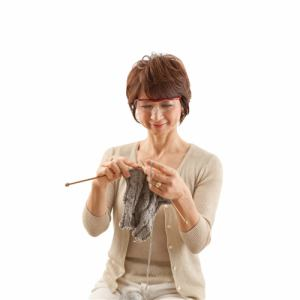 プリヴェAG Hazuki ハズキルーペ ラージ (柔らかフレーム)クリアレンズ 1.6倍 (紫)