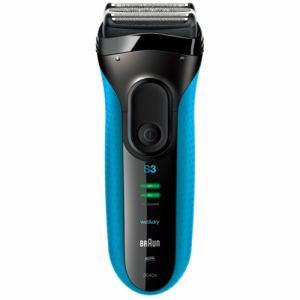 ブラウン メンズシェーバー シリーズ3 (3枚刃・お風呂剃り対応) ブルー 3040s