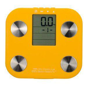 オーム電機 体重体組成計 オレンジ HB-K90-D