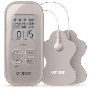 オムロン 低周波治療器 シルバー HV-F021-SL