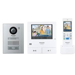 Panasonic 「どこでもドアホン」 ワイヤレスモニター付テレビドアホン VL-SWD501KS