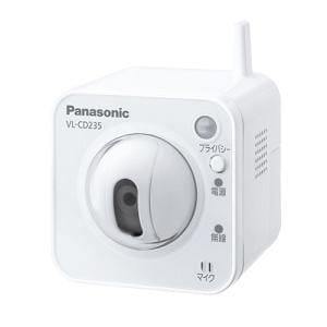 Panasonic センサーカメラ Wi-Fi兼用 屋内タイプ VL-CD235