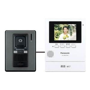 パナソニック カラーテレビドアホン (電源コード式) ホワイト VL-SV26KL-W