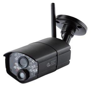 日本アンテナ ワイヤレスセキュリティーカメラ 充電式モニターセット 「ドコでもeye Security」 ワイヤレスカメラ増設用 SCWP04HD