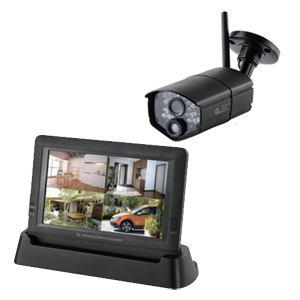 日本アンテナ HDワイヤレスセキュリティーカメラ 充電式モニターセット 「ドコでもeye Security」ワイヤレスカメラ・モニターセット SC03ST