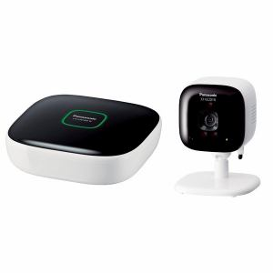 パナソニック ホームネットワークシステム 「スマ@ホーム システム」 屋内カメラキット ホワイト KX-HJC200K-W