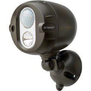 ミスタービームス MBN352 電池式人感センサーLEDライト(ブラウン)2個セット
