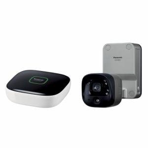 パナソニック KX-HC300SK-H 屋内カメラキット(ホームユニット+屋外バッテリーカメラ)