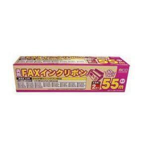<ヤマダ> ミヨシ ミヨシ FAX用インクリボン FXS55SH-2 シャープ汎用(2本入) 55m FXS55SH2画像