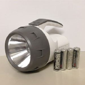 オーム電機 LED強力ライト LPP-05A7
