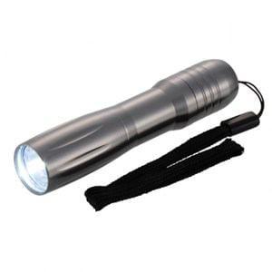 オーム電機 コンパクトライト シルバー LH-M10A6-S