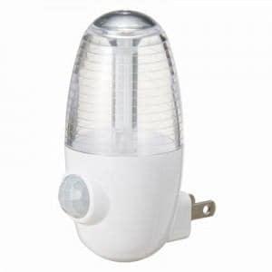ヤザワ LEDセンサーナイトライト ホワイト NASMN01WH