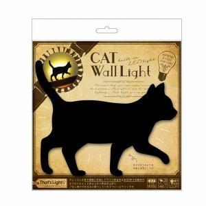 東洋ケース TLC-WL-02 LEDライト That's Light! CAT WALL LIGHT てくてく (猫)