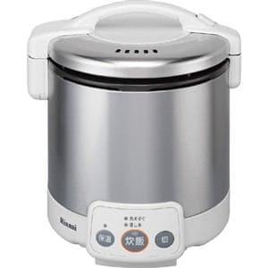 リンナイ ガス炊飯器 「こがまる VMシリーズ」(5合) 【プロパンガスLP用】 グレイッシュホワイト RR-050VM(W)-LP