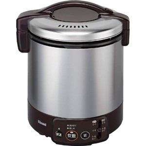 リンナイ ガス炊飯器 「こがまる VMシリーズ」(1升) 【プロパンガスLP用】 ダークブラウン RR-100VM(DB)-LP