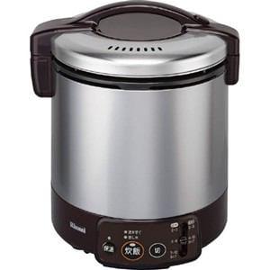 リンナイ ガス炊飯器 「こがまる VMシリーズ」(1升) 【都市ガス13A用】 ダークブラウン RR-100VM(DB)-13A