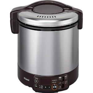 リンナイ ガス炊飯器 「こがまる VMTシリーズ」(1升) 【プロパンガスLP用】 ダークブラウン RR-100VMT(DB)-LP