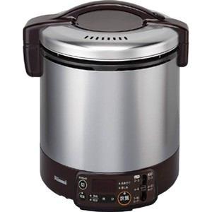 リンナイ ガス炊飯器 「こがまる VMTシリーズ」(1升) 【都市ガス13A用】 ダークブラウン RR-100VMT(DB)-13A