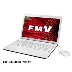 FUJITSU ノートパソコン LIFEBOOK AH42/R FMVA42RW