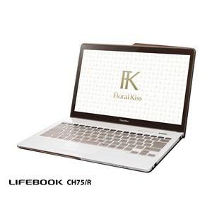 FUJITSU ノートパソコン LIFEBOOK CHシリーズ(Floral Kiss) CH75/R FMVC75RW