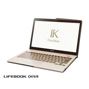 FUJITSU ノートパソコン LIFEBOOK CHシリーズ(Floral Kiss) CH75/R FMVC75RR