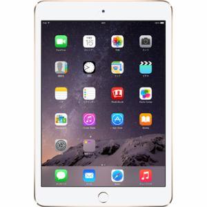 アップル iPad mini 3 Wi-Fiモデル 64GB ゴールド MGY92J/A