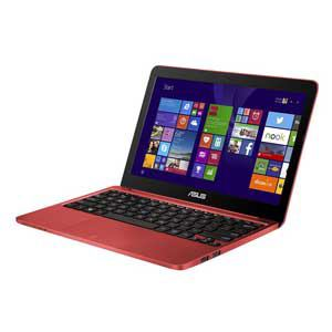ASUS ノートパソコン Eeebook X205TA レッド X205TA-B-RED