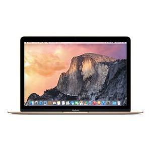 アップル(Apple) MacBook 12インチRetinaDisplayモデル Core M(1.1GHzデュアルコア)/8GB/SSD:256GB ゴールド MK4M2J/A