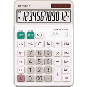 シャープ 卓上電卓 12桁 EL-S452X