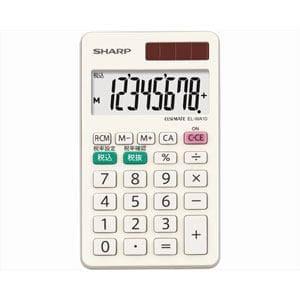 シャープ カラー・デザイン電卓 「手帳タイプ」(8桁) EL-WA10X