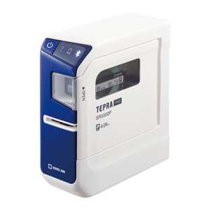 キングジム ラベルプリンター「テプラ」PRO(ブルー) SR5500P