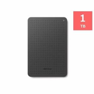 バッファロー ミニステーション ターボPC EX2 Plus対応 USB3.0用ポータブルHDD 1TB ブラック HD-PCF1.0U3-BBC