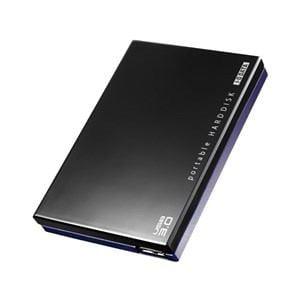 IOデータ USB 3.0/2.0対応ポータブルハードディスク「超高速カクうす」 1.0TB ブラック HDPC-UT1.0KE