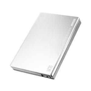IOデータ USB 3.0/2.0対応ポータブルハードディスク「超高速カクうす」 500GB シルバー HDPC-UT500SE