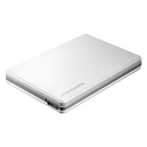 IOデータ USB 3.0/2.0対応ポータブルハードディスク「超高速カクうすLite」 1.0TB ホワイト HDPF-UT1.0WC