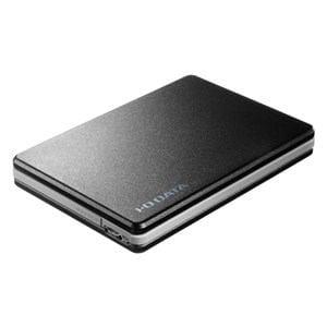 IOデータ USB 3.0/2.0対応ポータブルハードディスク「超高速カクうすLite」 500GB ブラック HDPF-UT500KC