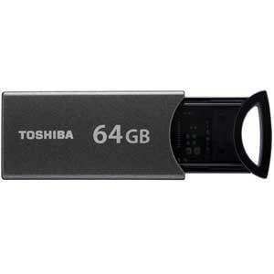 東芝 USB3.0/2.0対応 ノックスライド方式フラッシュメモリ 64GB UKA-3A064GK