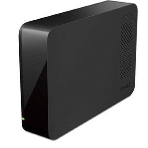 バッファロー USB3.0用 外付けHDD 2TB ブラック HD-LC2.0U3-BKD