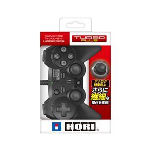 HORI PS3用 ホリパッド3 ターボプラス ブラック HP3-171
