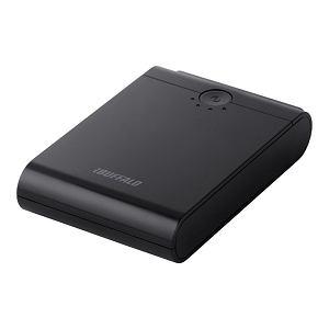 i-BUFFALO スマートフォン/タブレット用 モバイルバッテリー 10400mAhタイプ BSMPB07BK
