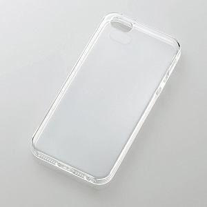 エレコム iPhone 5s/5用ソフトケース (クリスタルクリア) PS-A12UCTCR