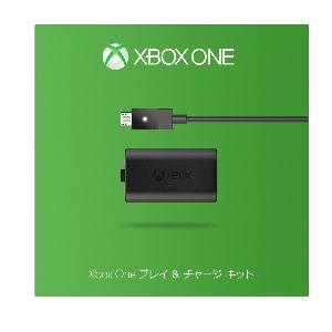 マイクロソフト Xbox One プレイ & チャージ キット S3V-00010