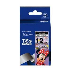 ブラザー ラミネートテープ(キャラクター) ミニーバイオレット TZe-MV31