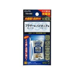 ELPA 電話子機用充電池 TSA-090