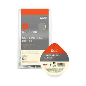 UCC DRIP POD抽出機専用 カフェインレスコーヒー 8P DPCL001