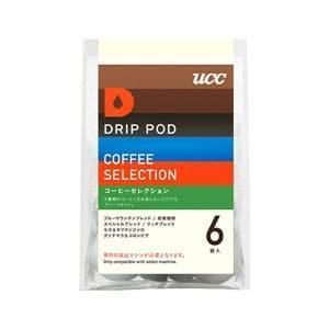 UCC DRIP POD抽出機専用 コーヒーセレクション 6P DPCS001