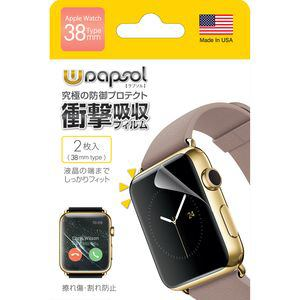 INNOVA GLOBAL ULTRA Screen Protector System 保護フィルム Apple Watch 38mm 2枚 WPIWC-38