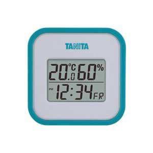 タニタ 温湿度計(ブルー) TT-558-BL