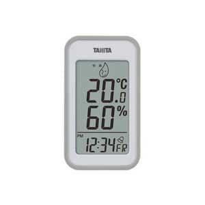 タニタ 温湿度計(グレー) TT-559-GY